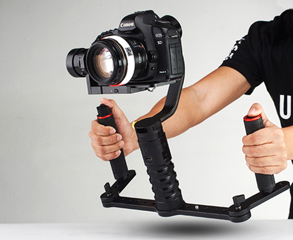 AFI Dual hand grip 3SD-1A gimbal holding grip with Joystick,for VS-3SD gimbal