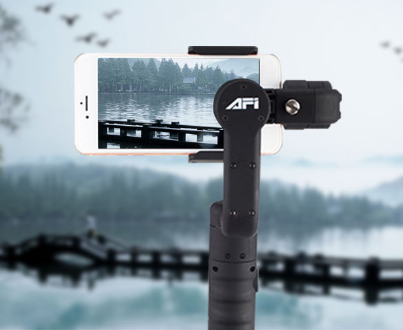 AFI smartphone 3-axis gimbal stabilizer factory store