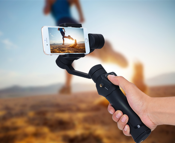 AFI V3 Smart phone gimbal, electric panorama head